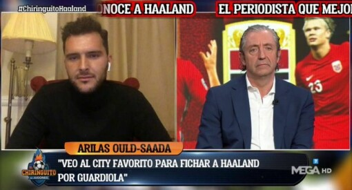 Her er VG-journalisten live på det populære spanske TV-programmet: – Det har kokt