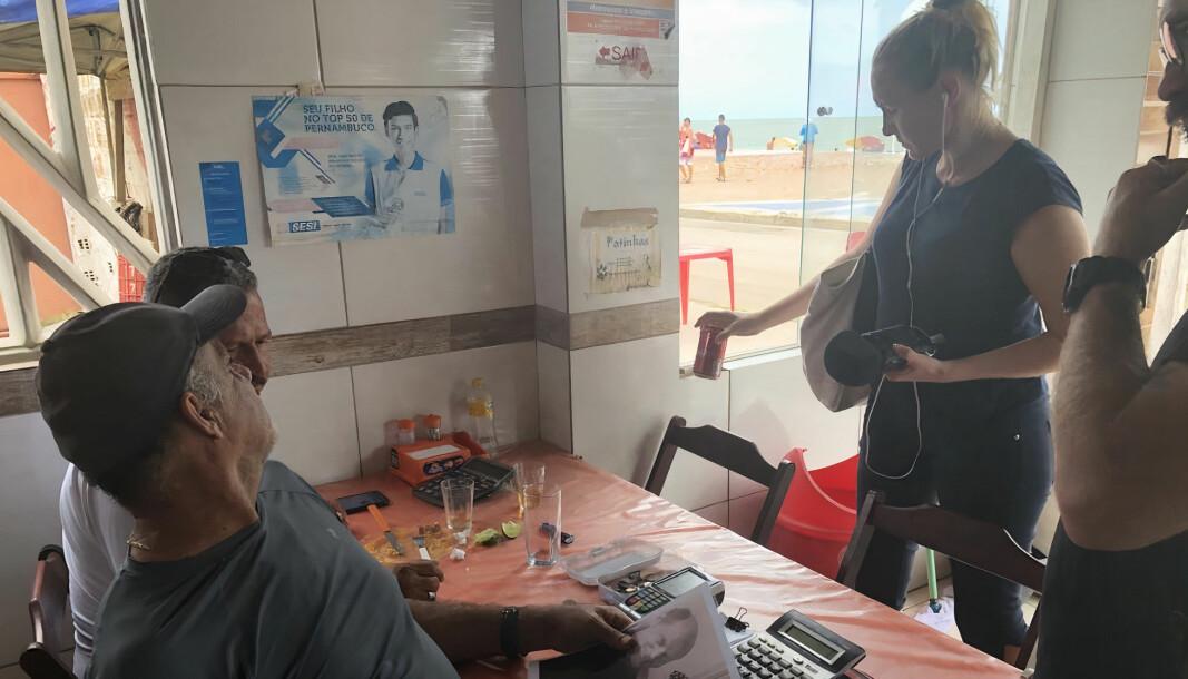 Stavanger Aftenblad-journalist Elisabeth Risa dro til Brasil for å lete etter den savnede nordmannen Reidar Sandanger. Resultatet er nå blitt podkast.