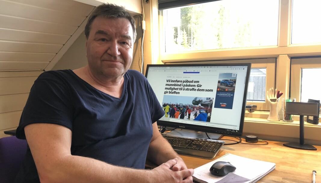 Ingvar Skattebu har hatt hjemmekontor i elleve år.