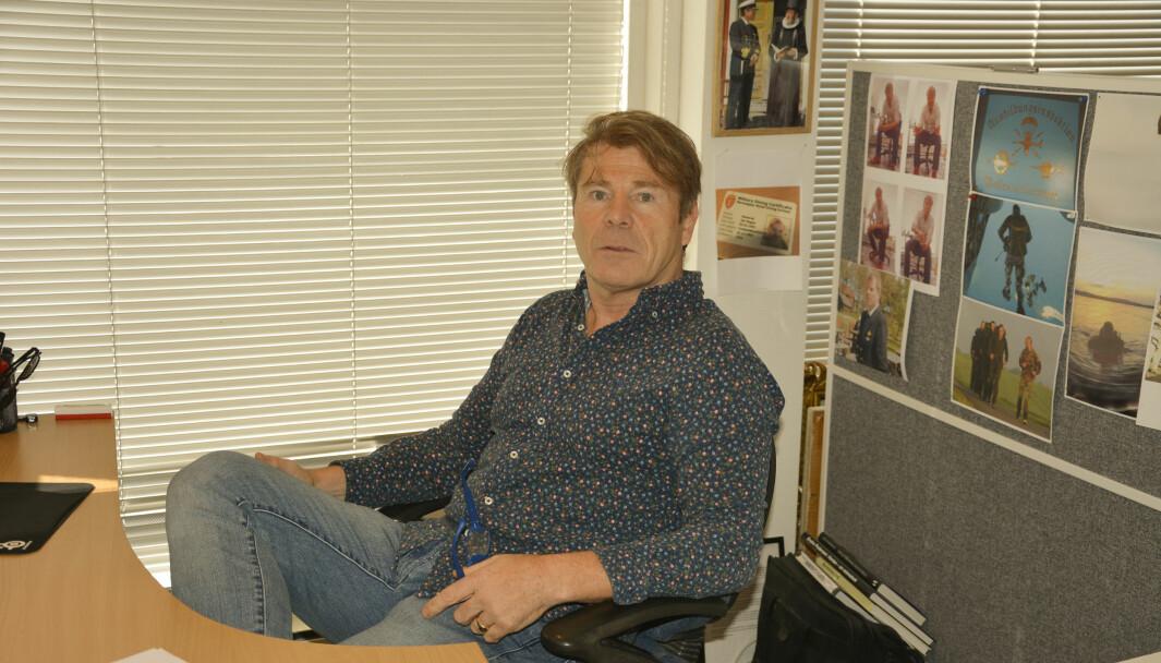 Den avgåtte Drangedalsposten-redaktøren Jan Magne Kåsa Stensrud.