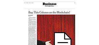 Dette er tidenes dyreste avisartikkel