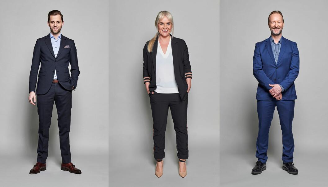 Ørjan Bjørnstad, Julie Strømsvåg og Kjetil André Aamodt blir å se på TV3 og Viaplay.