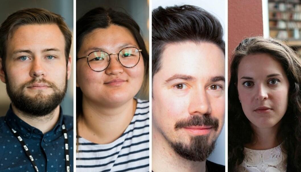 NTB har ansatt Andreas Løf (29), Isabel Bech (32), Fredrik Moen Gabrielsen (33) og Marie De Rosa (33) i faste journaliststillinger.