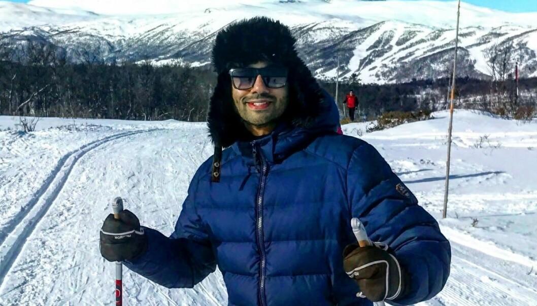Noman Mubashir håper å få noen dager på hytta i Hallingdal denne påsken.
