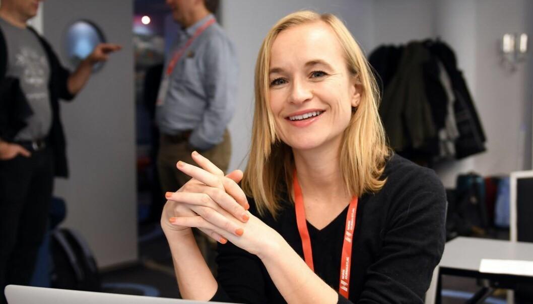 Heidi Taksdal Skjeseth ser frem til sitt første utenlandsoppdrag for NRK.