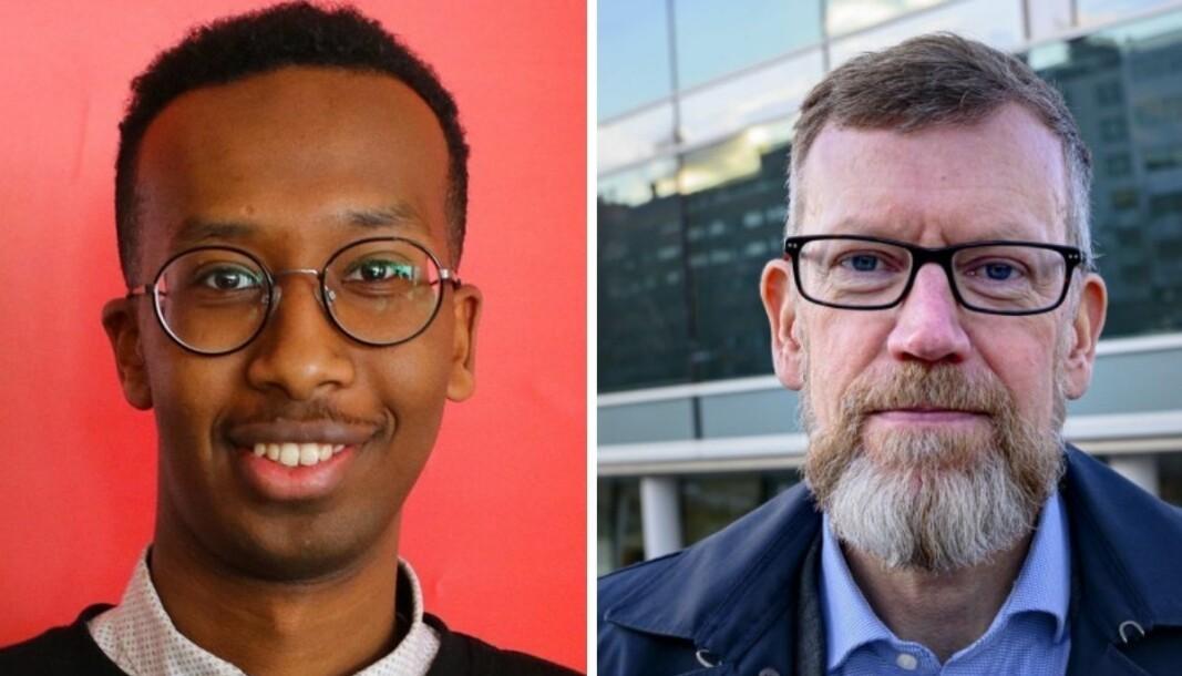Fawzi Abdirashid Warsame reagerte sterkt da Aftenposten brukte et bilde av ham som illustrasjon til en sak om importsmitte. Aftenposten og politisk redaktør Kjetil B. Alstadheim beklager.