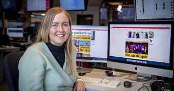 Marthe (28) blir digital vaktsjef i Dagbladet