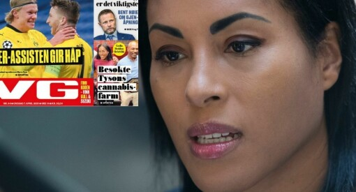 Cecilia Brækhus reagerer på feilaktig VG-oppslag: – Vurderer PFU-klage