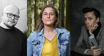 Fritt Ords Pris for 2021 går til Jan Grue, Bjørn Hatterud og Olaug Nilssen