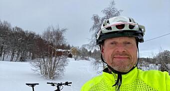 Én time etter denne sykkelturen fikk NRK-journalisten beskjeden som kan endre livet hans