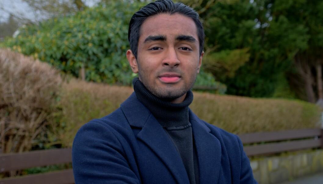 Luqman Wadood, redaktør for debattplattformen Jeune.