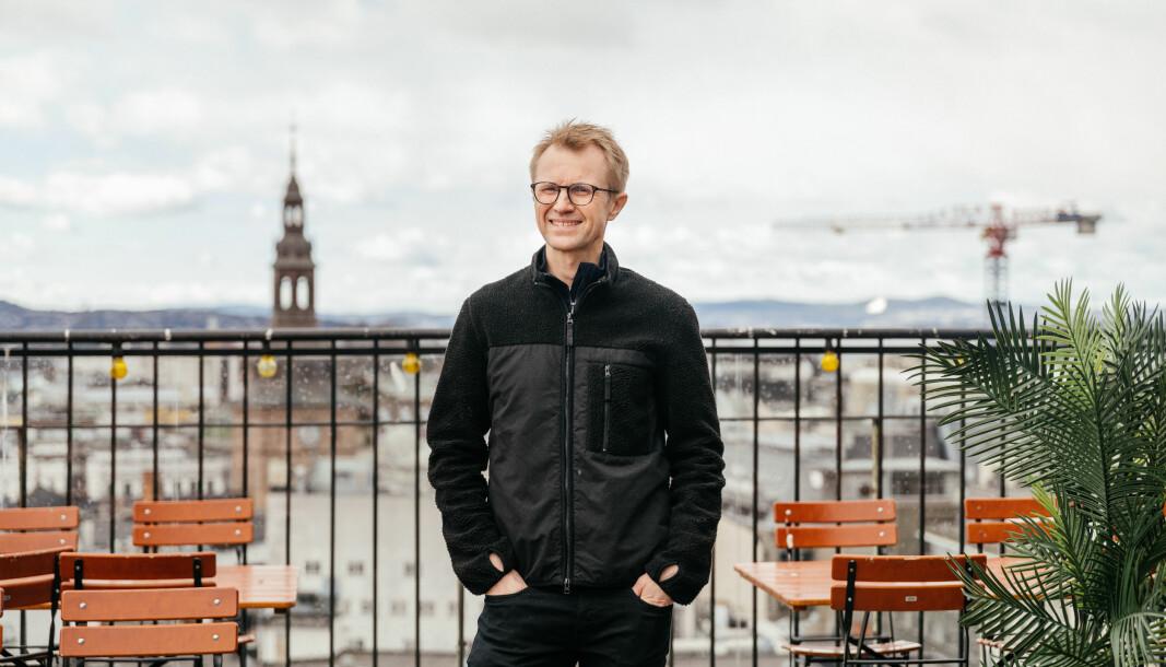 Håkon Moslet forlater journalistikken for å jobbe med byutvikling.