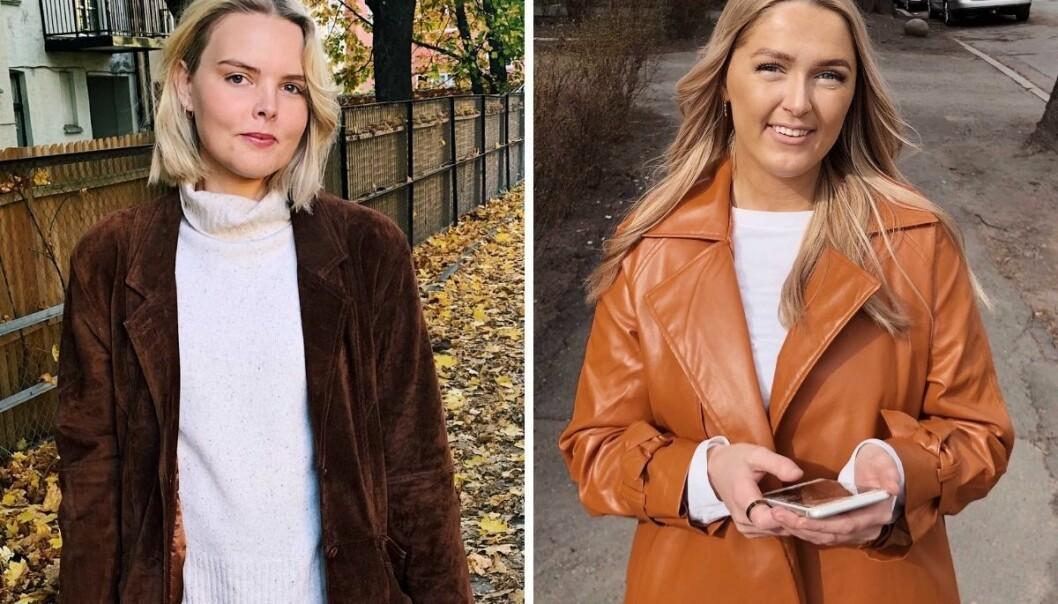 Maria Støre (t.v) og Siri Berge er ansatt i faste stillinger i VG Rampelys.