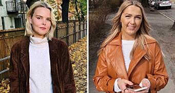 Maria (24) og Siri (24) er ansatt i VG Rampelys