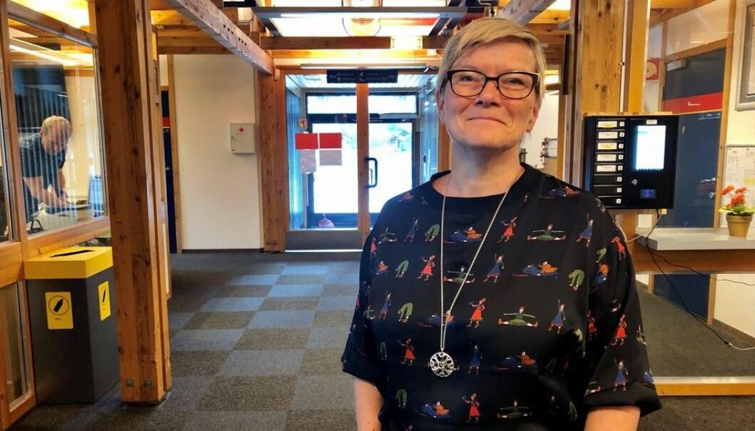 Mona Solbakk leder den nye talent-satsingen til NRK Sápmi.