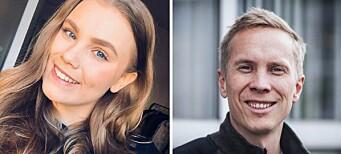Linnea (24) og Håvard (40) har fått fast jobb i Østlands-Posten