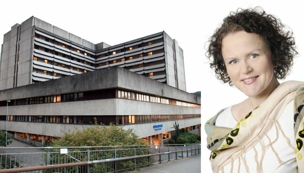 Kommunikasjonsdirektør Bente Aae i Helse Vest, der Haukeland universitetssjukehus er største sykehus, innrømmer at dialogen med mediene kunne vært bedre i 2019.