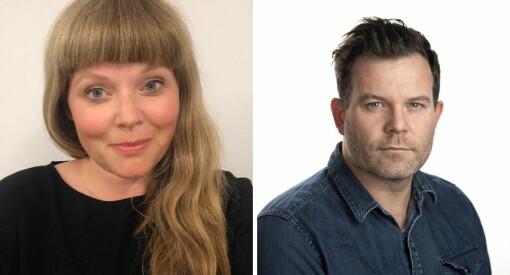 Karen (44) og Eirik (41) er nye ledere i Aftenpostens nyhetsavdeling