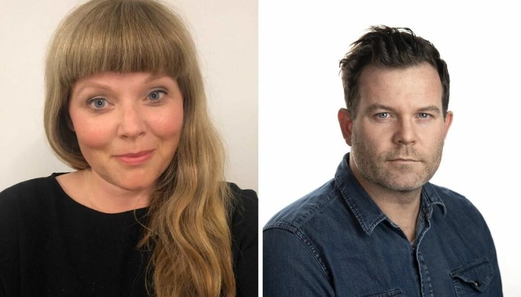 Karen R. Tjernshaugen (44) og Eirik Fardal (41) får nye lederjobber i Aftenposten.