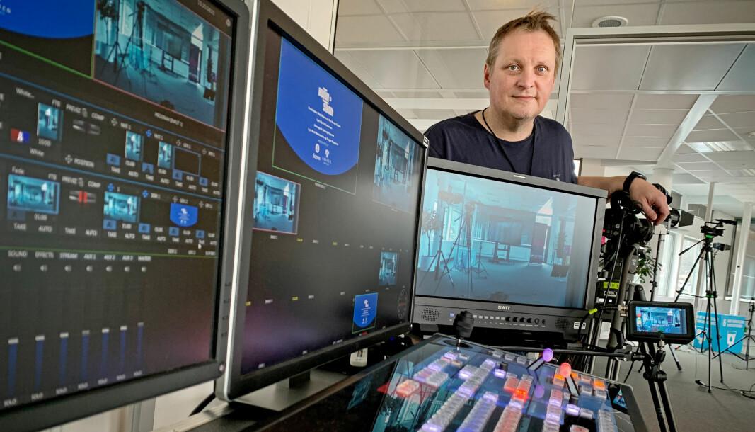 Videojournalist Stig Vågnes skal stå i spissen for å bygge opp kompetansesenteret.