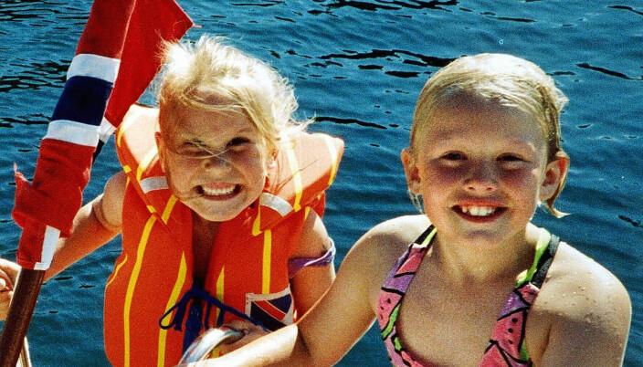 Stine Sofie Sørstrønen (t.v.) og Lena Sløgedal Paulsen ble funnet voldtatt og drept i Baneheia i Kristiansand i 2000.