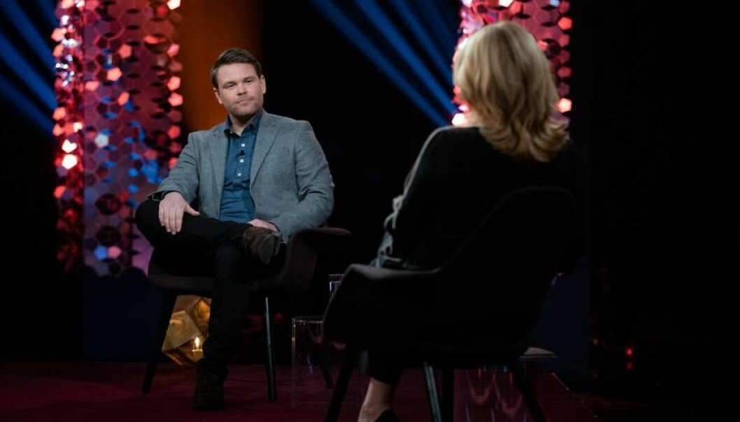 Kristoffer Sørstrønen snakker om drapet på lillesøsteren Stine Sofie, i fredagens Lindmo.