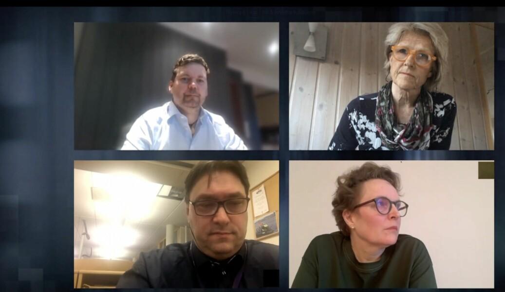 Anders Sooth Knutsen, Siri Gedde-Dahl, Arve Bartnes og Gry Egenes deltok alle på SKUP-konferansens graveleder-møte, fredag ettermiddag.