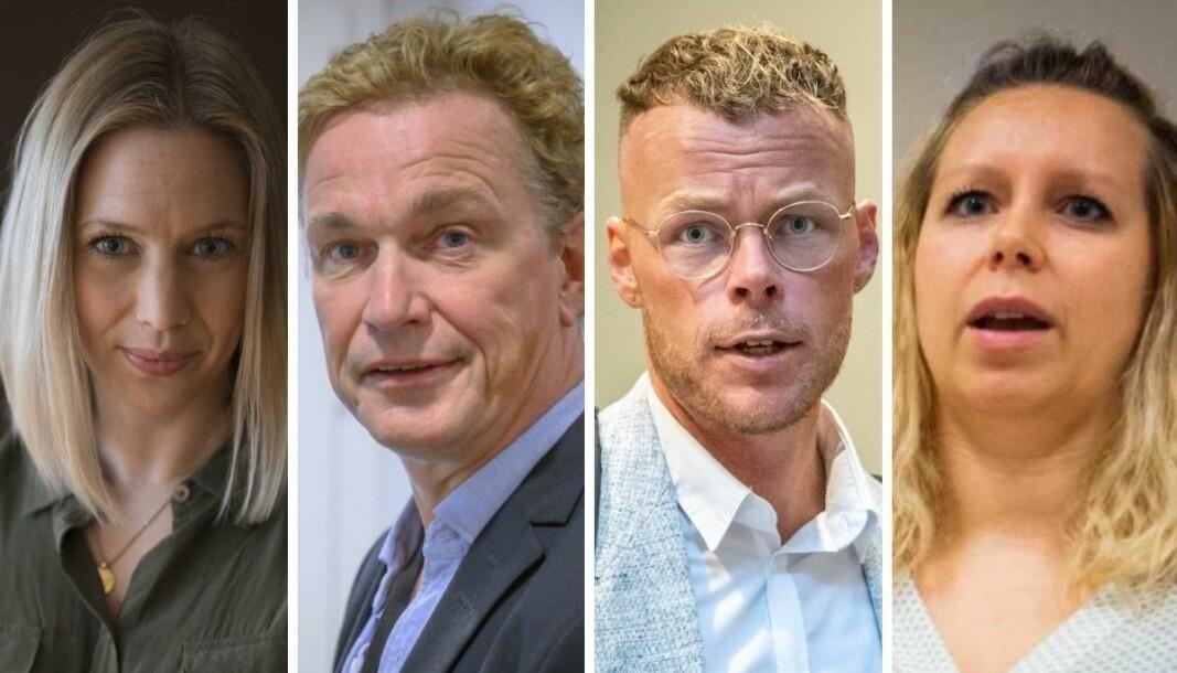 Hvor lang svartid får politikerne av mediene? VGs Eva-Therese Loo Grøttum, NRKs Espen Olsen Langfeldt, Dagbladets Steinar Suvatne og Nettavisens Carina A. Bredesen svarer.