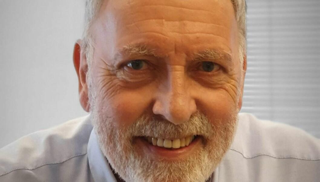 Redaktør Frank Kjøde går av med pensjon etter å ha vært ansatt i avisen Nyss siden 1982.