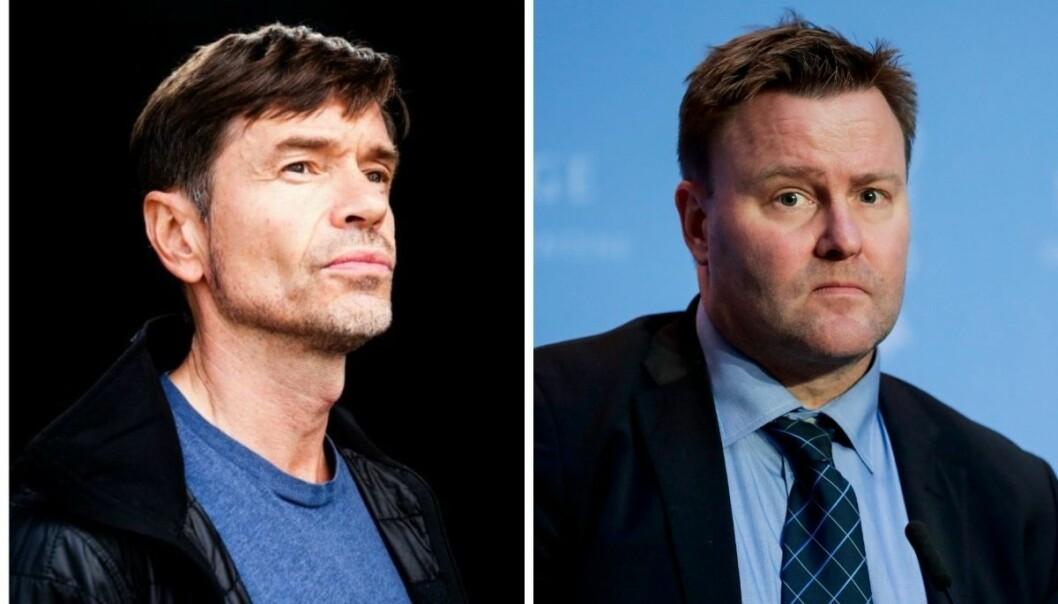 Sosiolog og samfunnsdebattant Kjetil Rolness (til venstre) mener Espen Rostrup Nakstad bør faktasjekkes bedre.