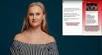 Reagerer på VGs ordbruk i sak om overgrep på «Paradise Hotel»: – Jeg er så lei av den type retorikk