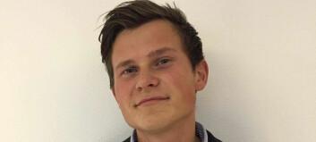 Fredrik (24) ville bli fysioterapeut. Så kom han over en lenke på nettet