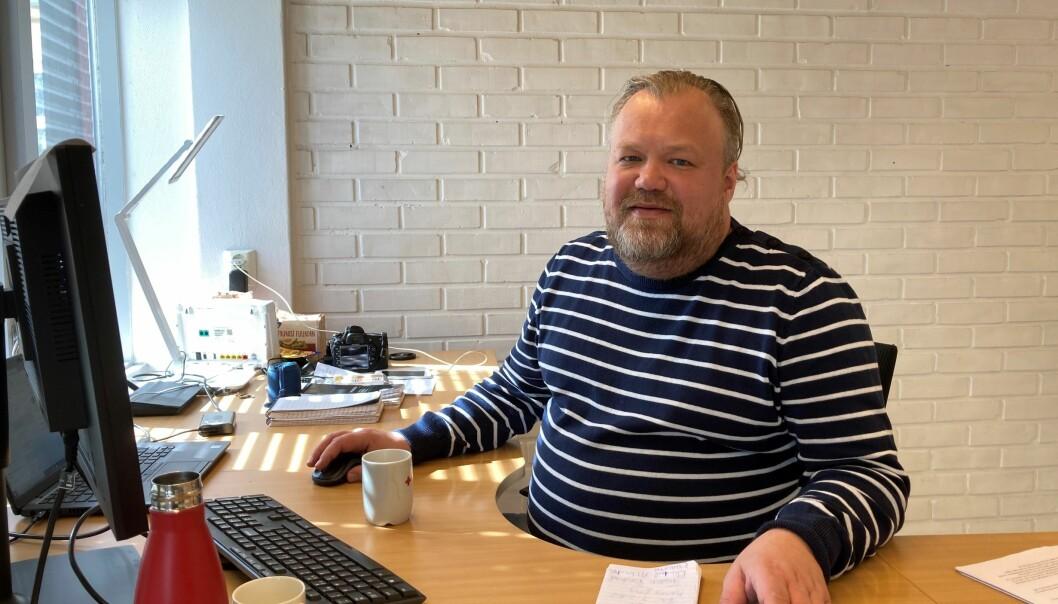 Trond Findahl er journalist i Alvdal- midt i væla og Tynsetingen
