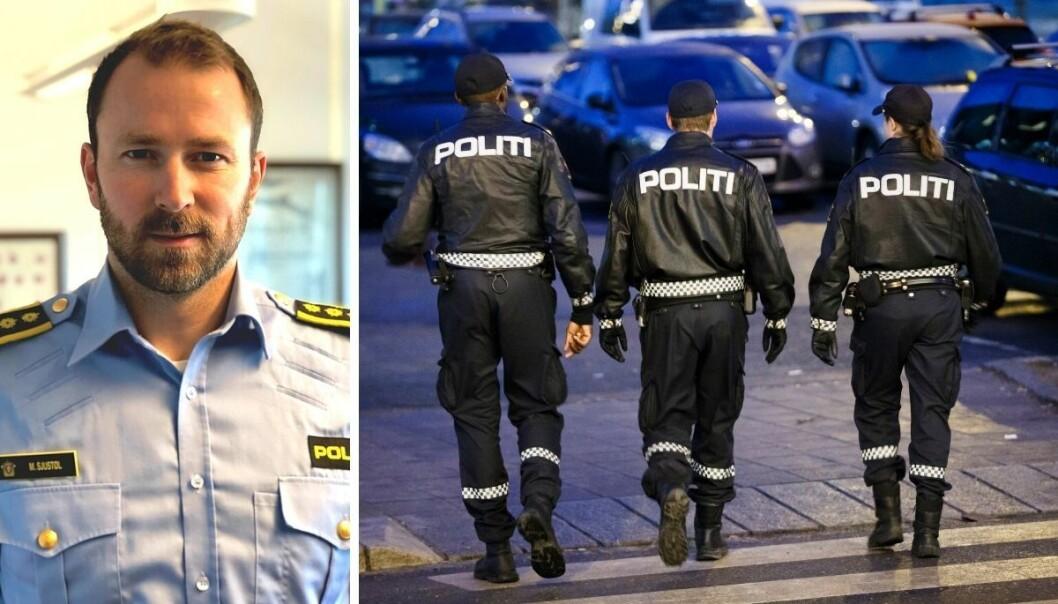 «Vi har verken forutsetninger eller anledning til å gjøre annet enn å forholde oss til SSHF sin valgte kommunikasjonsstrategi.» heter det i den nye instruksen fra politiet i Agder. Her ved stabssjef Morten Sjustøl.
