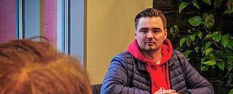 Eirik (23) ble inspirert av TV 2-profil: – Har en drøm om å ta over jobben hans