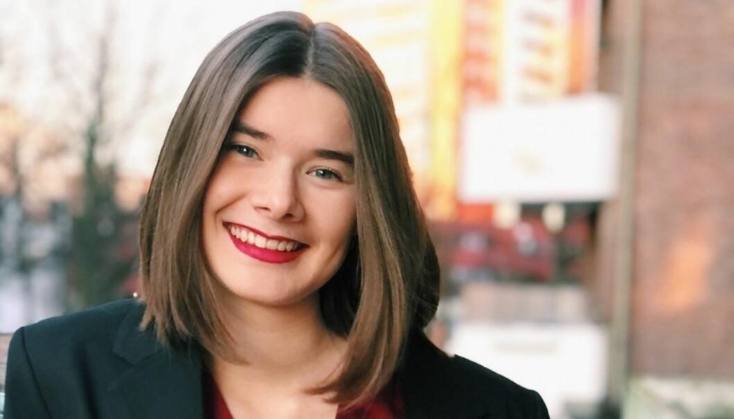 Ida Helene Benonisen (22) er journalistikkstudent ved Høyskolen Kristiania.