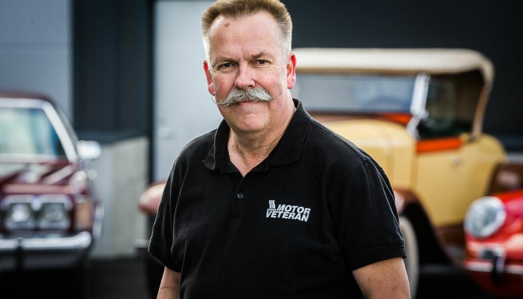 Ansvarlig redaktør Tormod Magelssen i Norsk Motorveteran. Utgiver Storyhouse Egmont.