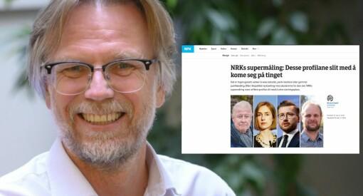 NRK tenker nytt før høstens valg - dette er de nye «supermålingene»
