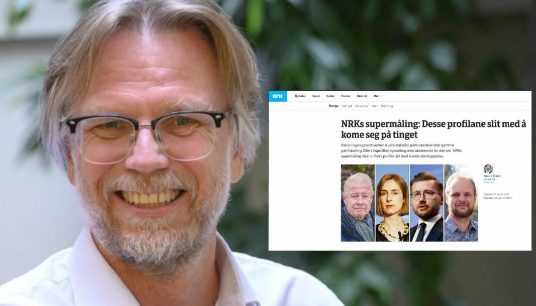 NRK og nyhetssjef Kyrre Nakkim satser på en ny type politiske meningsmålinger i år.