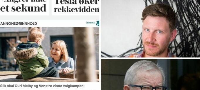 Reagerer på merking av annonsørinnhold i VG: – Overraskende å gjøre slike typer tabber