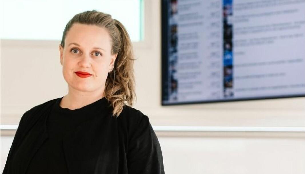 Julie Lundgren (33) blir konserndirektør for produkt og strategiutvikling i den nye konsernledelsen i NHST Media Group.