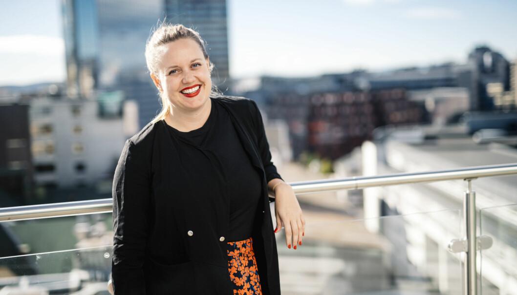 Konserndirektør for produkt- og strategiutvikling i NHST, Julie Lundgren.
