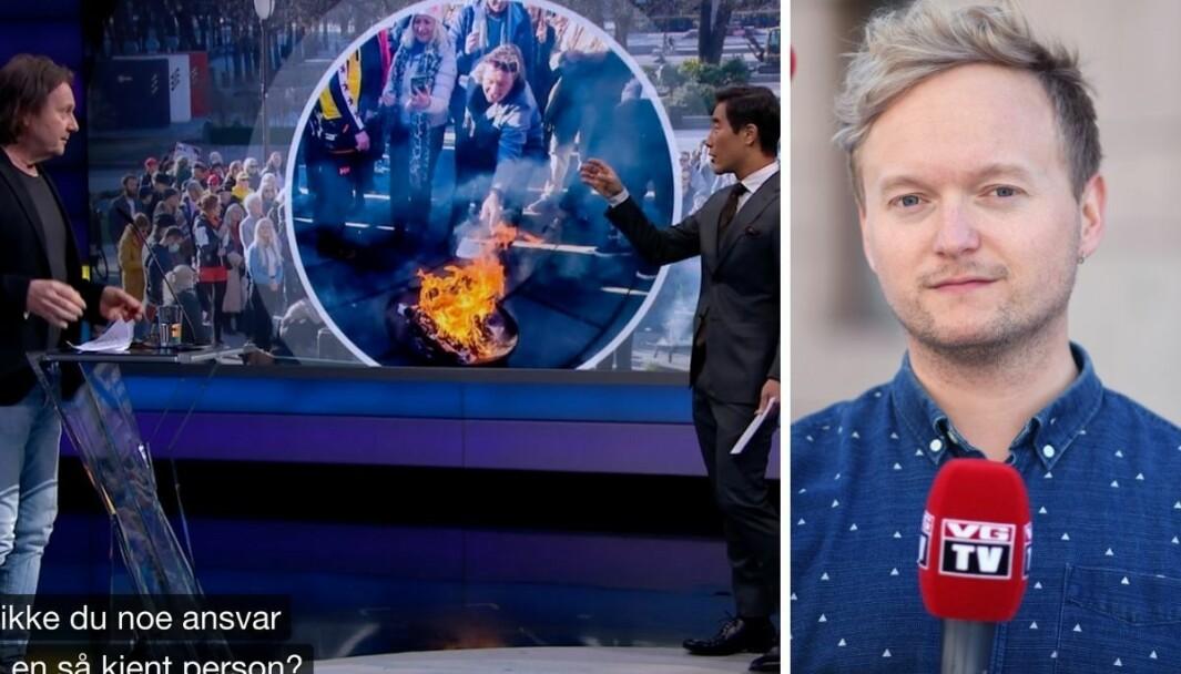 VGTV-programleder Espen Moe Breivik mener Charter-Svein bringer noe friskt til Debatten.