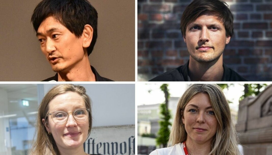 Både NRKs Petter Sommer, Svarttrost Produksjoners Sindre Leganger, Aftenpostens Karoline Fossland og VGs Helle Skjervold er frustrert over problemer med Apples podkastplattform.