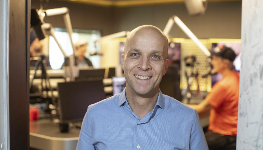 Programdirektør Kristoffer Vangen gleder seg over at Bauer Media snart lanserer en ny radiokanal.