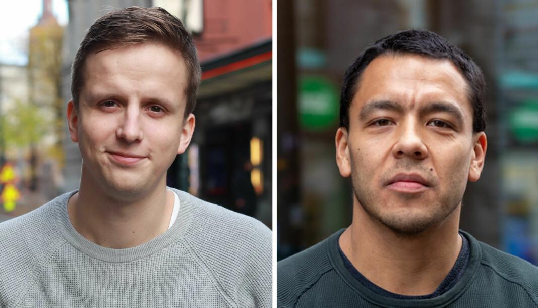 Anders Lohne Fosse og Mario Andrés Neira Torres blir nyhetsjournalister i Nettavisen på fast basis.
