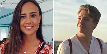 Tina (26) og Johan (26) er ansatt på TV 2s nye videodesk