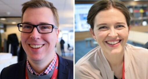 Dette er det nye styret i Norsk Redaktørforening