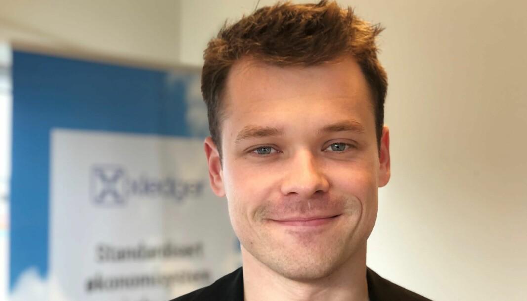 Fredrik Hammerfjeld blir leder for produkt- og teknologiutvikling ved NRKS distriktskontor i Bodø.