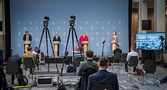 Det året regjeringen gjenopplivet pressekonferansen